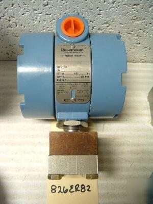 New rosemount gage pressure transmitter 1144G 826ER82.