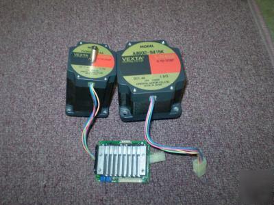 2 vexta 5 phase stepper motors 1 csd5814n driver for 5 phase stepper motor