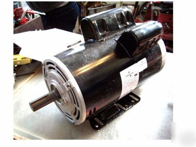 new emerson 5 hp air compressor motor in box 1 phase