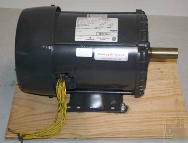 Emerson S937 5 Hp Electric Motor