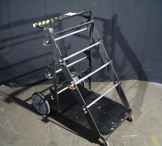 Industrial Electrical Wire Spool Cart Dispenser