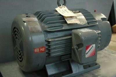 Baldor 20 hp 3 ph 3450 rpm electric motor cm4106t for Motor baldor 20 hp