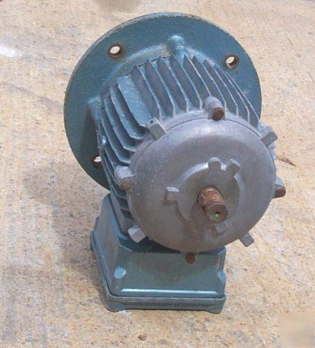Electric Motor 480 Volt Approx 1 Hp Approx 3 4 Shaft