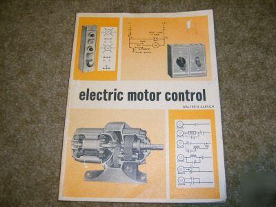 1975 electric motor control book walter n alerich