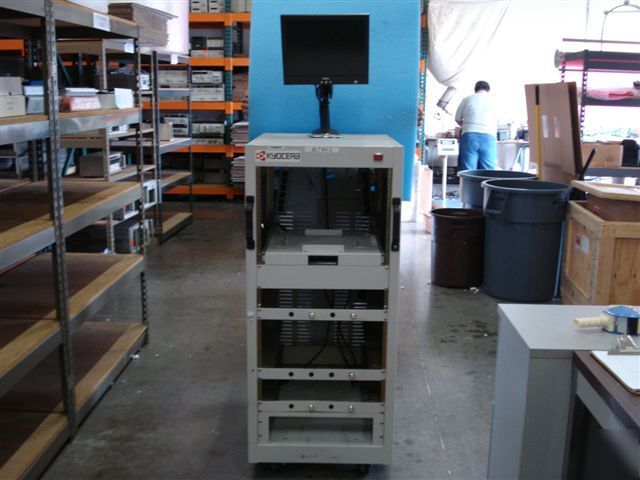 Test Equipment Racks : Rolling test equipment rack feet