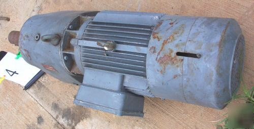 German Quality Electric Gear Motor 480 Volt With Brake