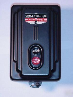 1939 art deco cutler hammer motor control unused in box for Cutler hammer motor control centers