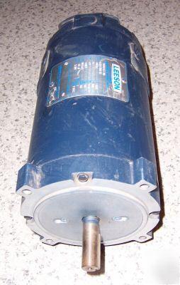 Leeson 12 Volt Dc 1 2hp Electric Motor C Face Mount