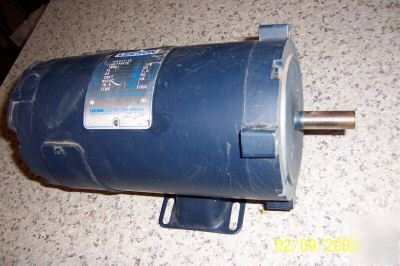 Leeson 12 Volt Dc 1 2hp Electric Motor C Face Mount