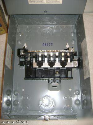 New Square D Qo816l100s 100a 8 Sp 16 Circ Load Center