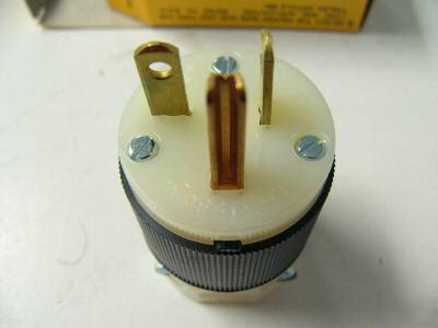 20a 250v Plug 20a Nema 6-20p Plug Lot of
