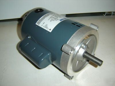 Marathon electric motor 3 4 hp single phase 1 phase for Dc motor 1 3 hp