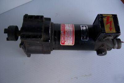 Dayton 4z129 Permanent Magnet Dc Gear Motor 1 8 Hp